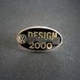 VW Design 2000 Pin Silber