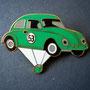 Volkswagen Ballon Käfer Pin grün