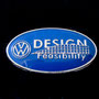 VW Design Feasibility Pin blau