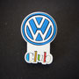 Volkswagen Club Pin aus Gummi (1. Version)