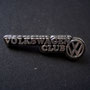 Volkswagen Club Pin International altsilbern