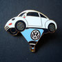 Volkswagen Ballon Beetle Pin weiß