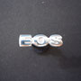 EOS Pin 935 Sterling Silver hell Pin Vorderseite