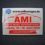 VW Pin Volkswagen AMI Leipzig 2009