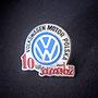 Volkswagen Motor Polska NSZZ Solidarność 10 lat Pin