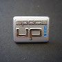 VW space up! blue Los Angeles 2007 Pin