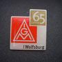 65 Jahre IG Metall Wolfsburg Pin