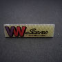 VW Scene International Logo Pin klein