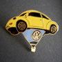 Volkswagen Ballon Beetle Pin gelb