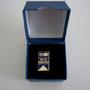 Volkswagen Audi Auszeichnung Pin Blue Riband in original Box