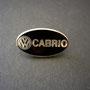 VW Cabrio Design Emaille Pin Vorderseite