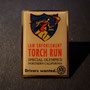 Volkswagen 2001 law enforcement torch run special olympics pin 2001 drivers wanted