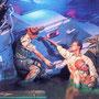 Peinture de propagande représentant JFK en train de s'occuper de Patrick McMahon.