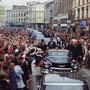 JFK se rend à Cork, en Irlande (28 juin 1963).