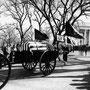 Le cercueil du président Kennedy part de la Maison-Blanche pour être acheminé jusqu'à la cathédrale Saint-Matthieu.