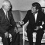 JFK et Krouchtchev (Vienne - 3 juin 1961).