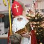 Unser Nikolaus wie immer sehr fesch