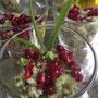 Grüner Quinoa-Salat mit Granatpafelkernen © V.Smolla