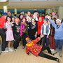 Karneval im Level Club 2014 Bowling und Buffet ..