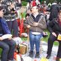 10.000 Kerzen im Schlosspark- Konzert Benrath - wir waren dabei ...