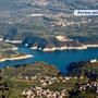Ausblick auf den St. Giustina-See