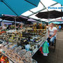 Marktplatz in Rovinj