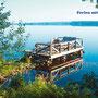"""Der See """"Lelang"""" - ca. 2 km vom Camp entfernt"""