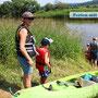 Kanutour auf der Weser - organisiert von uns
