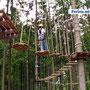 """Abenteuer im Kletterpark """"Tree-Rock"""" in Silberborn"""