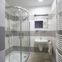 und modernen Bad mit DU/WC