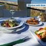 Gemütliche Taverne mit lecker Essen und super Blick auf's Meer