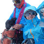 Gipfelglück auf dem Finsteraarhorn trotz misslichem Wetter