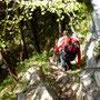 im Abstieg Richtung Alpnachstad