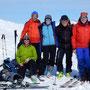 vereintes Gipfelglück auf dem Strätscherhorn