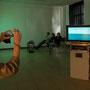 Ausstellungsraum Rona Rangsch - Videoarbeiten