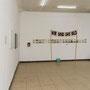 Raumansicht mit Arbeiten von Matthias Schamp und Karl-He