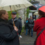 Finissage im Regen