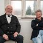 Die Künstler Manfred Boiting und Doris Brändlein