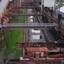Blick vom Dach der Mischanlage