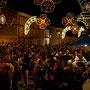 Barisciano, 15 Agosto. Piazza del mercato, Festa di Maria SS. Assunta.