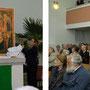 """Erste öffentliche Präsentation des Projektes """" Wiederaufstellung des spätgotischen Marienaltares in der Schloßkirche zu Lützschena"""" © Oliver Tietze"""