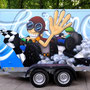 Spielmobil-Gestaltung JUZ Bederkesa / Paritätischer Cuxhaven/ Mai 2020 / Foto NH