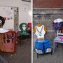 """""""Die Stuhlgang: Der Dealer, der Gangster, die Prostituierte"""" Foto und Montage NH"""