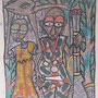 Painting, by Adewale, Nigeria, 1983