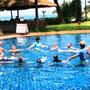2012/07 アクアビクスコーチとして参加 in Phuket (Thailand)