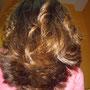 Tratamiento de Queratina - después, peinado a secador