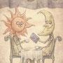 太陽と月と石の本