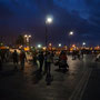 Malecón de noche