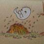 .. Doodle 301/365 - Stichwort: Herbstlaub