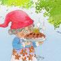 .. Doodle 130/365 - Stichwort: Apfelkuchen